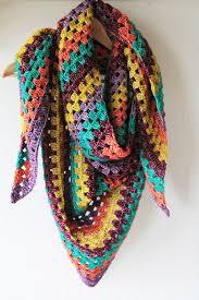 simple granny shawl allfreecrochet com