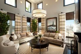 hamptons inspired luxury home living room robeson design san