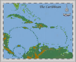 Caribbean Sea On Map by Profantasy Community Forum Fate Of The Sapphire Sea Caribbean