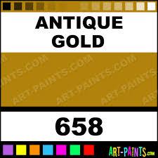 antique gold metallics acrylic paints 658 antique gold paint