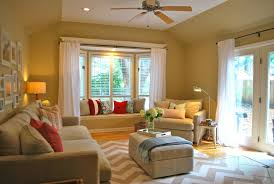 Living Room Curtain Looks Bay Window Seat Ideas Most Seen Pictures In The Enchanting Bay