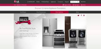 washer dryer deals black friday lg black friday promotions invite holiday shoppers to save big on