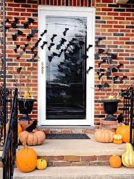 quick and easy halloween front porch update hgtv