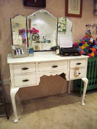 bedroom luxurious white makeup vanity with drawers for bedroom