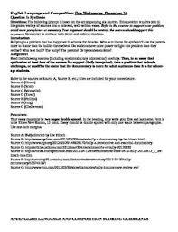 Sample Synthesis Essays Ap English   Essay Topics Ap Synthesis Essay Example Planning And Pre Pleasure Point Marina