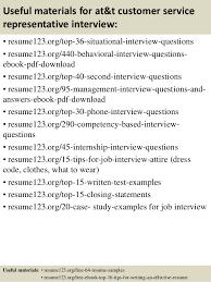 Sample Resume For Customer Service Representative Telecommunications by Top 8 At U0026t Customer Service Representative Resume Samples