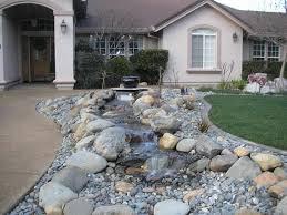 Best Outdoor Stone Landscaping Ideas Images On Pinterest - Backyard river design