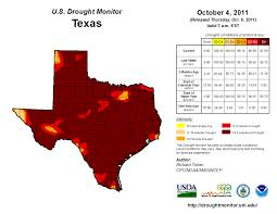 Drought Map Usa by Nielsen Gammon John