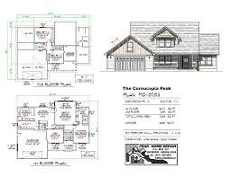 the cornucopia peak md0203 peak home design oregon