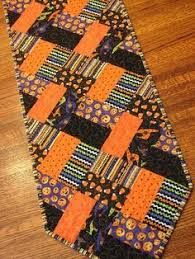 Quilted Table Runners by Quilted Halloween Table Runner 12 1 2 X 40 Add Lots Of Bright And
