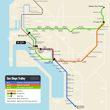Los Angeles Light Rail Map by List Of San Diego Trolley Stations Wikipedia