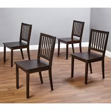 Shaker Dining Chairs Set Of  Black Walmartcom - Black dining table for 4
