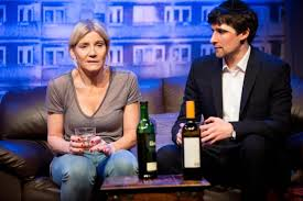 Home   Islington Gazette Michelle Collins and Joe Coen in A Dark Night In Dalston at Park Theatre  Picture