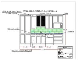 autocad kitchen design interior kitchen design in autocad drawing