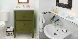 Bathroom Sink Ideas For Small Bathroom 11 Ikea Bathroom Hacks New Uses For Ikea Items In The Bathroom