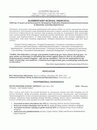Breakupus Fetching School Administrator Principals Resume Sample Page With Alluring Administrator Principals Resume Sample Page And     Break Up
