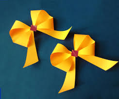 awesome and easy paper bow or ribbon for gift box decoration