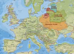 Map Of Europe During The Cold War by History Of Lithuania Complete Yet Brief True Lithuania