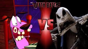 courage vs jack skellington halloween prelude by