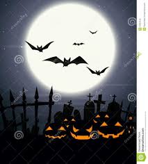 free halloween background images halloween background with full moon and scary pumpkins royalty