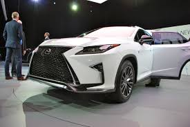 lexus rx 350 pictures the 2016 lexus rx tries to have fun by copying its little brother