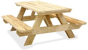 Free Wooden Picnic Table Plans by Picnic Tables In Stock Uline