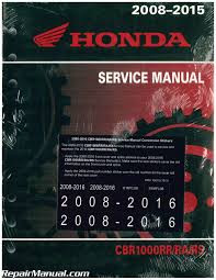 2008 2016 honda cbr1000rr motorcycle service manual