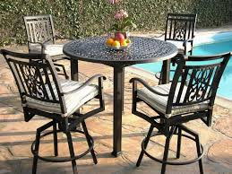 Patio Furniture Bar Height Dining Set - bar height patio chairs clearance hen5 cnxconsortium org