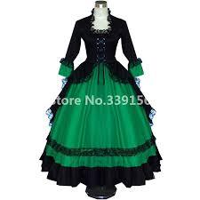 18th Century Halloween Costumes Popular 18th Century Gothic Dresses Buy Cheap 18th Century Gothic