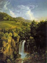 Thomas Cole  American artist             Genesee Scenery