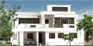 Kerala Home Design May 2014 by Flat Roof Homes Designs Flat Roof Villa Exterior In 2400 Sq Feet