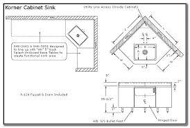 Kitchen Corner Sink Base Cabinet Dimensions Above Kitchen Sink - Corner kitchen base cabinet