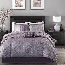 Purple Bed Sets by Amazon Com Madison Park Mp10 919 Biloxi 7 Piece Comforter Set