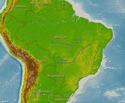 South America River Map by Geographical Map South America Research For Cataveiro