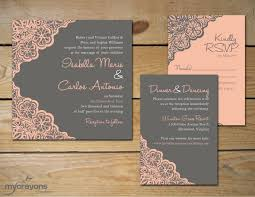 Making Wedding Invitation Cards Marvelous Rustic Lace Wedding Invitations Theruntime Com