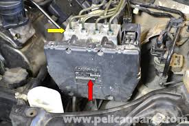 mercedes benz w203 abs control module replacement 2001 2007