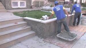 Stone Cladding For Garden Walls by Stone Veneer Wall Youtube