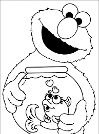 sesame street halloween coloring pages elmo face clipart 54