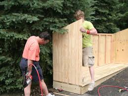 How To Build A Storage Shed Plans Free by Build A Trash Shed Hgtv