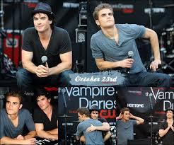 The Vampire Diaries cast : Paul Wesley \u0026amp; Ian Somerhalder ACTUALITE ... - 2480463515_1_7
