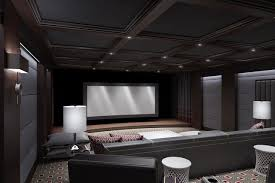 Home Theater Design Pictures Ct Home Theater Contemporary Home Theater New York By