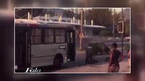 Motorista de ônibus briga com outro motorista no RJ | Folha Vitória