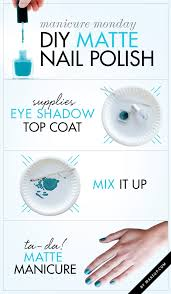 manicure monday diy matte nail polish matte nails matte nail