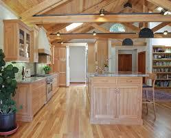 Aluminum Kitchen Backsplash Natural Oak Cabinets Kitchen Industrial With Warehouse