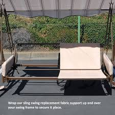 Replacement Patio Chair Slings by Universal Sling Swing Back Support Garden Winds