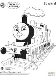edward from thomas u0026 friends coloring page free printable