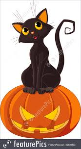 halloween clipart pumpkin halloween black cat illustration halloween cat images festival