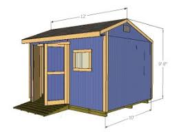 Plans For Building A Wood Storage Shed by 12x10 Saltbox Shed Plans