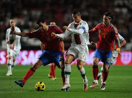 spain vs portugal friendly november 2010