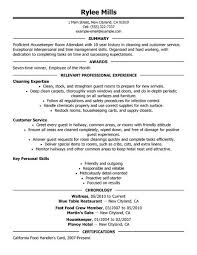 Hotel Housekeeping Resume Example   cover letter for a sales position happytom co